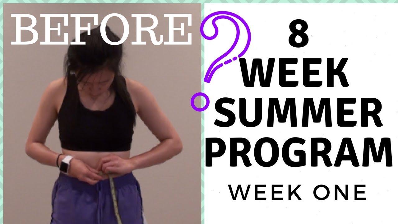 I tried CHLOE TING'S 8 WK SUMMER SHREDDING PROGRAM | Week ...