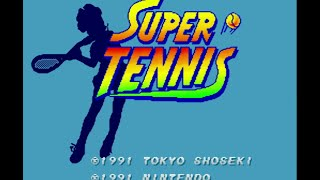 Snes Longplay - Super Tennis