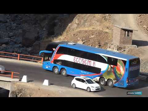 BUSES PERU - carretera central - CCGUILE BUSES  2018