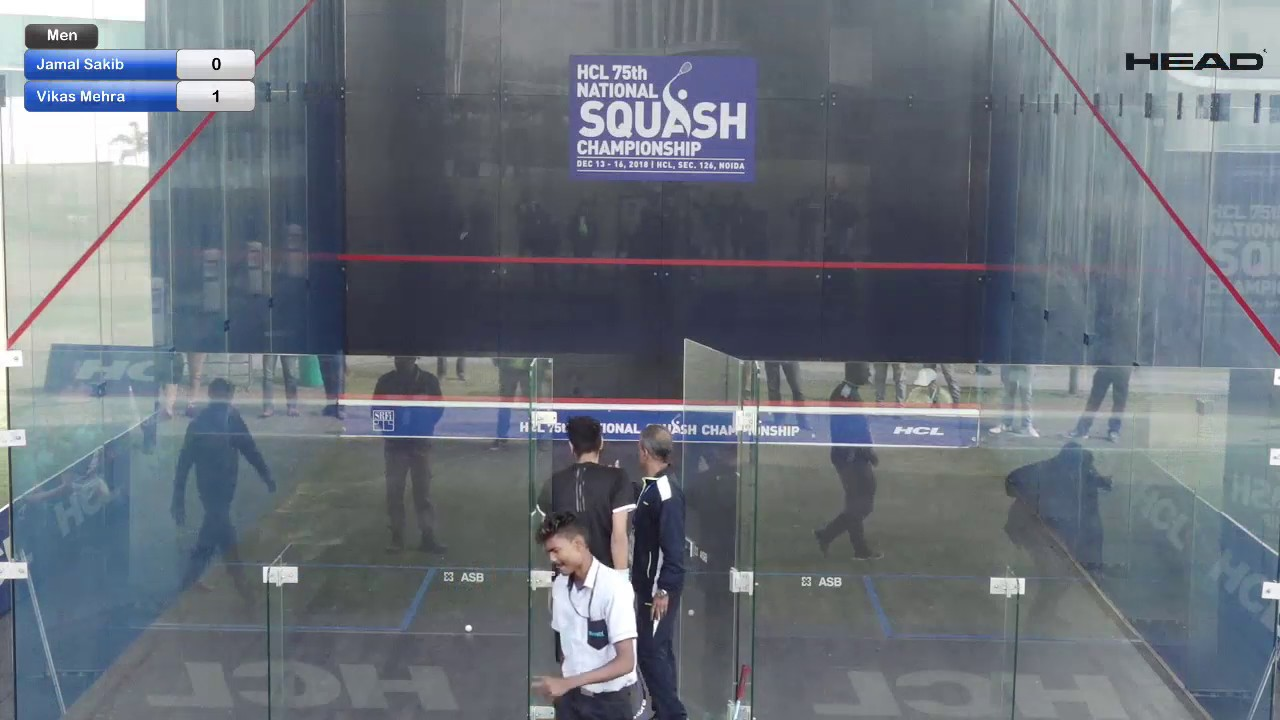 Day 5 I HCL Tech Hub GC I HCL 75th Senior National Squash Championship 2018