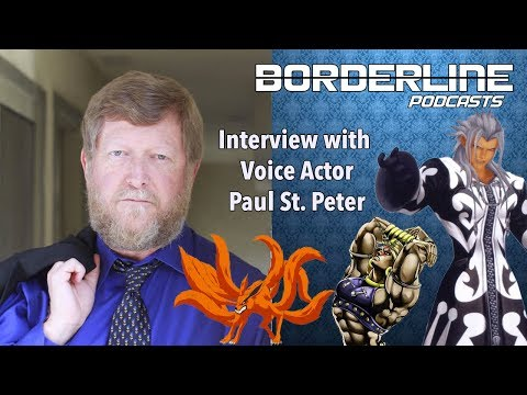 Interview with Paul St. Peter [Voice of XEMNAS, KURAMA, and WHAMMU]