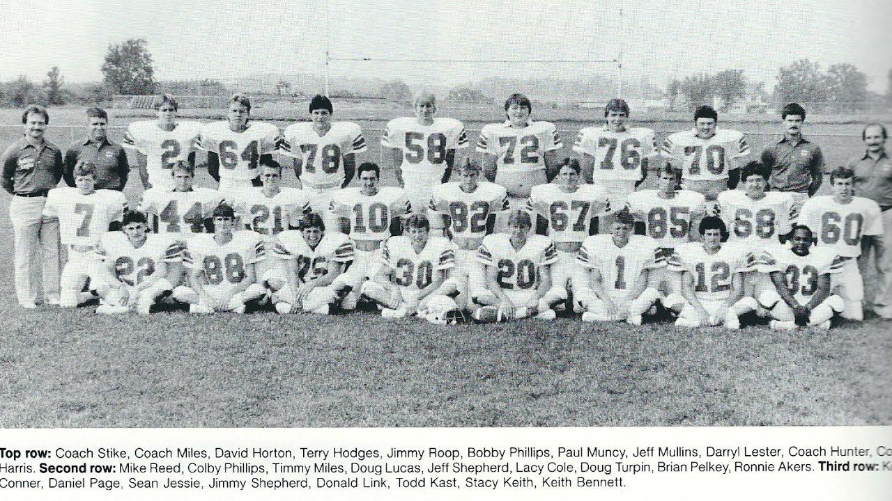 Auburn High School 1986 Football Game 3