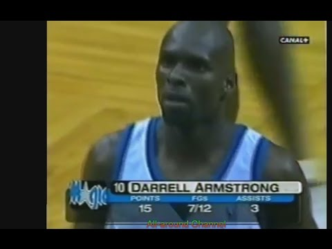 Darrell Armstrong 24 Pts 5 Ast Vs. Lakers, 99-00.