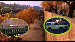 Disney Pixar All Pizza Planet Truck Spottings!!