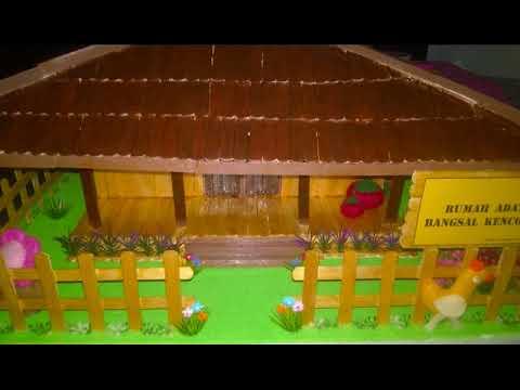 8600 Gambar Rumah Adat Betawi Dari Stik Es Krim HD Terbaru
