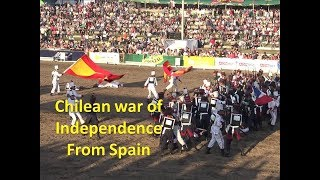 Chilean war of Independence from Spain