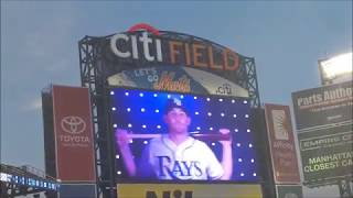 Tampa Bay Rays vs. New York Yankees at Citi Field, 9/11/17 2017 Video