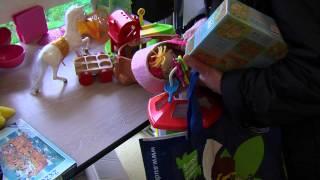 SQYBUS : la redistribution de jouets a commencé