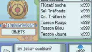 Pokemon cheat: Demonstration de codes