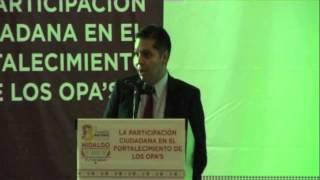 OPAM 2013  Ciudadanía y el Derecho a Saber, Eduardo Bohorquez