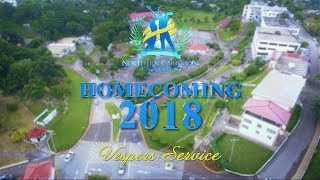 NCU Homecoming 2018 - Friday Evening Vesper Service | LIVE STREAM