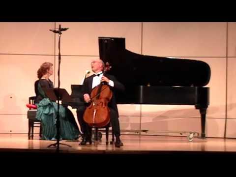 Claude Debussy: Cello Sonata —  Steven Doane, cello - Barbara Lister-Sink, piano