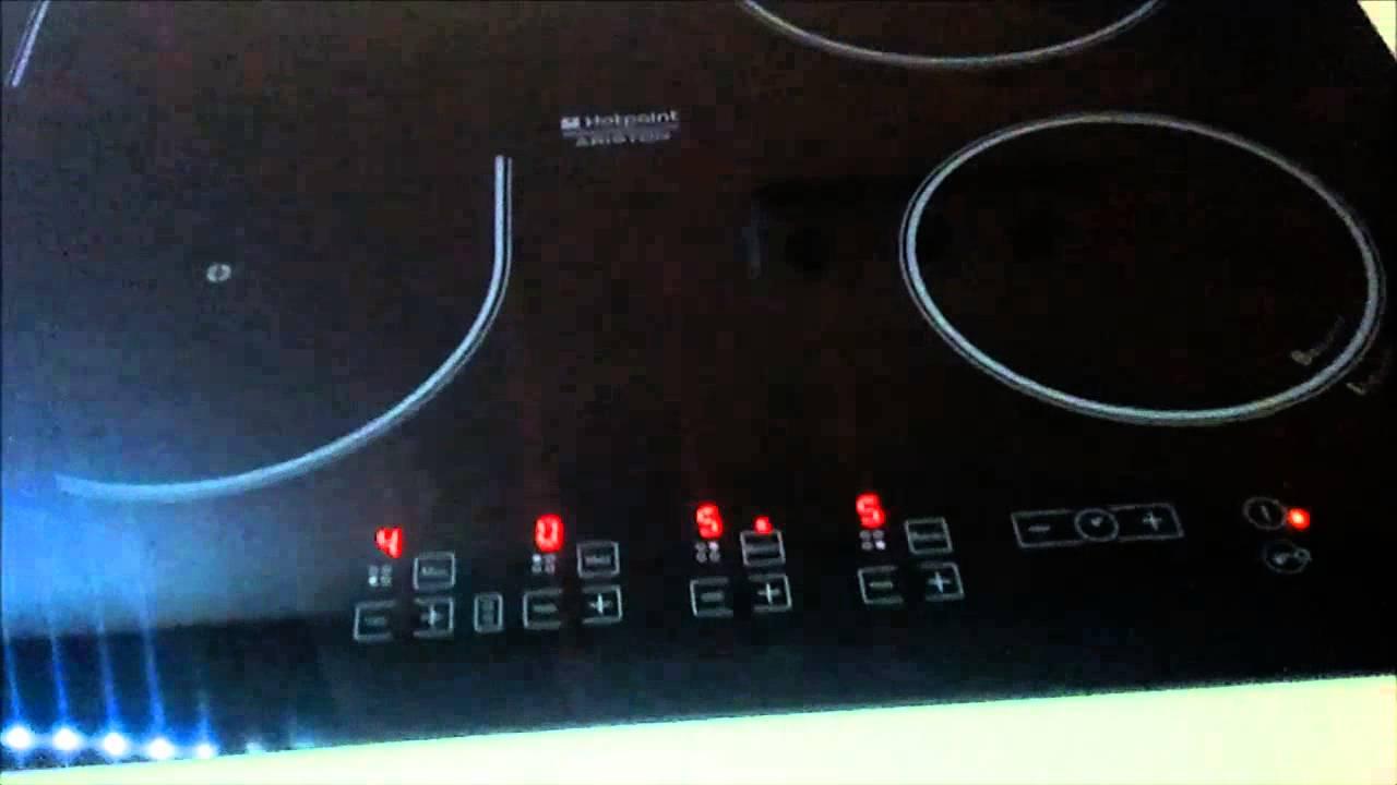 Plyta Indukcyjna Hotpoint Ariston Kio 632 Cc Youtube