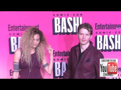 Joseph Morgan and Persia White at the Entertainment Weekly San Diego Comic Con Party