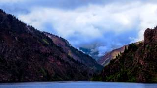 time lapse photography of nomad kyrgyzstan travelling where mother nature outdid herself