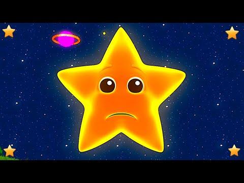 Star Light Star Bright | Kindergarten Nursery Rhymes for Kids | Baby Cartoons by Little Treehouse