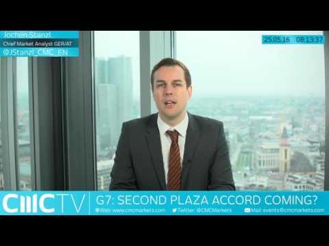 New Plaza-Accord at G7 coming? CMC Markets 25th May 2016