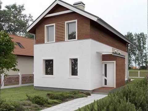 Проект двухэтажного дома на узком участке 178 кв.м