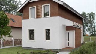 Проект двухэтажного дома на узком участке 178 кв.м(, 2015-09-01T12:42:25.000Z)