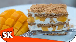 How to make a Graham Cake Mango Float Cake
