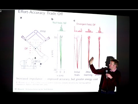 Machine Learning in Robotics - Imitation Learning for Soft Robots - Matthew Howard