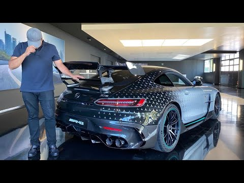 Customising my New Mercedes AMG GT Black Series Exclusive AMG One Edition at Affalterbach 2020