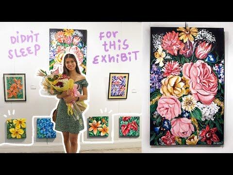 A WEEK IN MY LIFE: i live like a hermit & exhibit my art | Ciara Gan