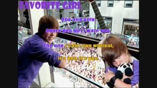 Favorite Girl - Justin Bieber (Acoustic) [Instrumental/Karaoke]