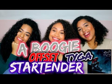 A Boogie Wit Da Hoodie - Startender Feat. Offset & Tyga [Official Audio]  REACTION/REVIEW