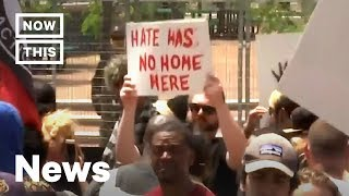 KKK Rally Overwhelmed By Hundreds Of Counter Protesters NowThis