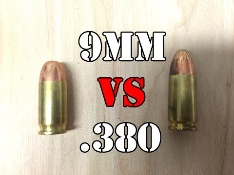 9mm vs.380: What is the difference?.