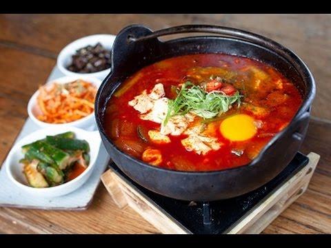 Sundubu Jjigae (Korean Spicy Soft Tofu Stew) - My Korean Kitchen