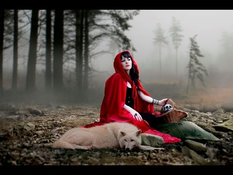 Photoshop Tutorial, Photo Manipulation Combine Multiple Photos, Red Riding Hood