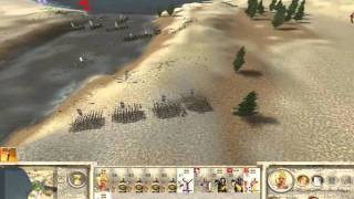 RomeTW - Alexander Historical Battle 4 - Battle of Issus