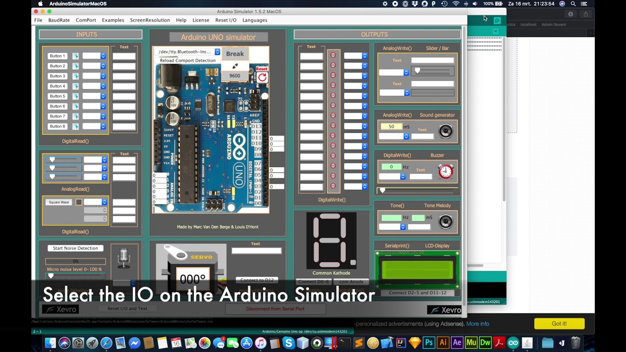 arduino simulator free download windows 10