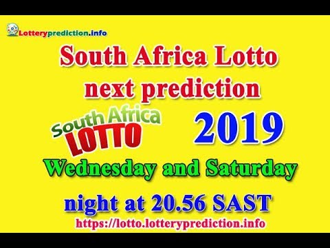 South Africa Lotto next prediction 2019