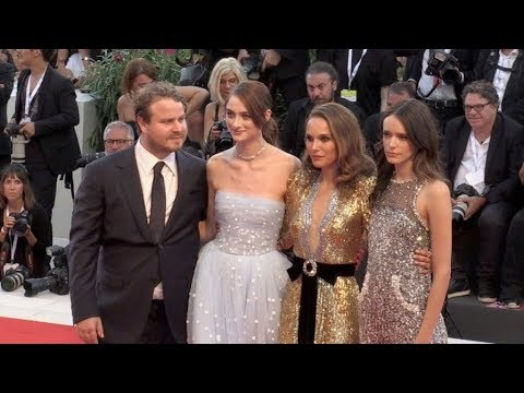 Natalie Portman, Stacy Martin and more on the red carpet for the Premiere of Vox Lux in Venice