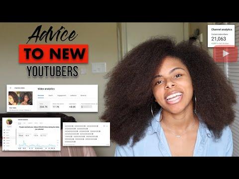 Advice to New Natural Hair Youtubers | Equipment, Music, Marketing, etc.