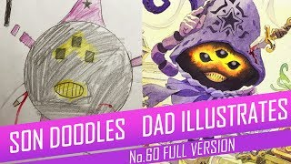 DRAWING with my kids - DARK STAR WITCH [FULL VERSION] No.60