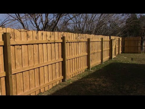 Building 70 Feet of Wooden Fence MM 93