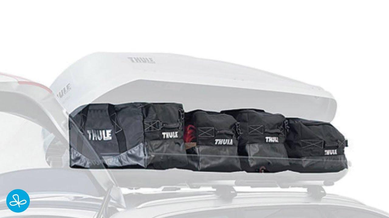 thule go pack set 8006 ab 117 00 preisvergleich bei. Black Bedroom Furniture Sets. Home Design Ideas