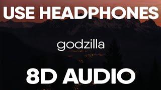 Eminem - Godzilla ft. Juice WRLD (8D Audio)