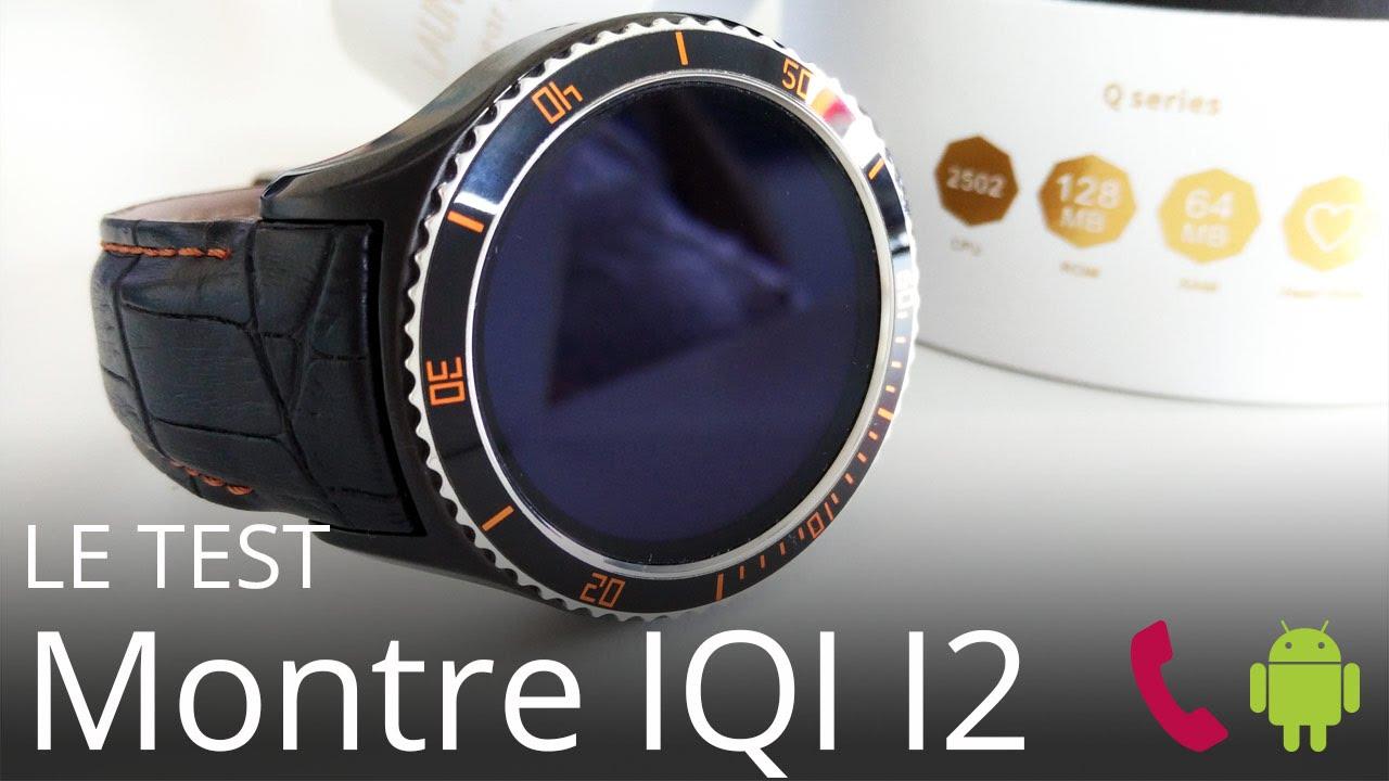 02dcff524b860 Test Smartwatch IQI I2 - Une montre smartphone connectée Android 5.1 en  français (fr) version LOL