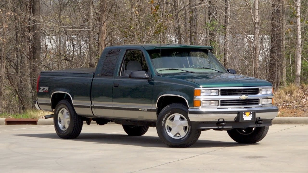 1998 Chevrolet K 1500 Silverado Z71 Sold 136455 Youtube