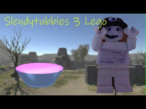 Как сделать охранника из игры Slendytubbies из лего!