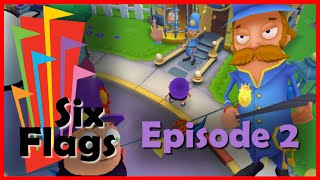 """""""Six Flags Fun Park"""" Let's Play (Episode 2)"""