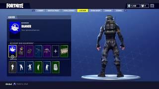 Fortnite Battle Royale - Starter Pack   Rogue Agent   Catalyst Back - Season 3