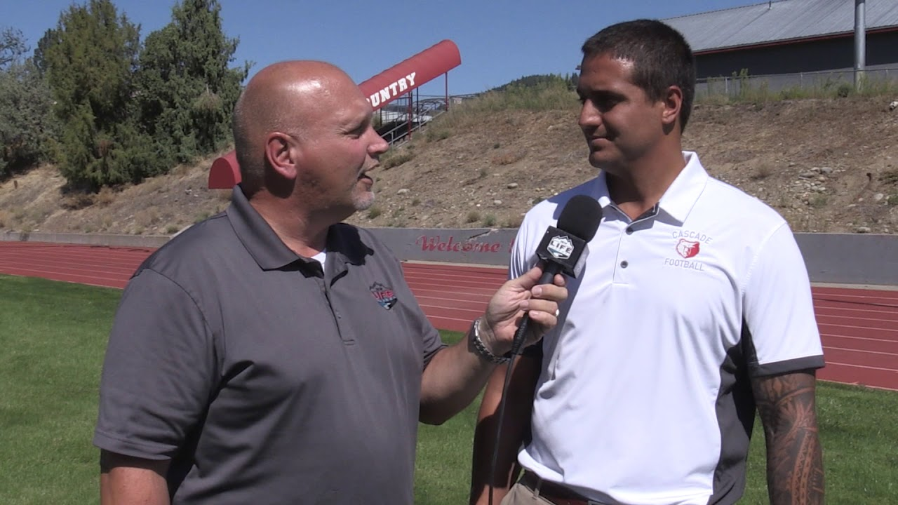 Cascade Coach Dom Coffin on QB and RB 2019-08-27