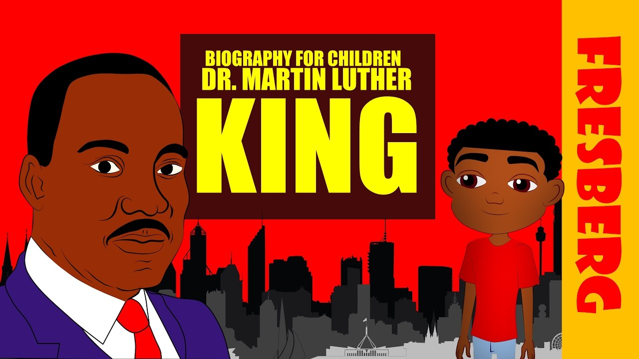 Black History Dr Martin Luther King Jr Biography For Kids Educational Videos Students