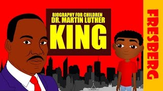 Black History Dr Martin Luther King Jr Biography for Kids Educational Videos for Students